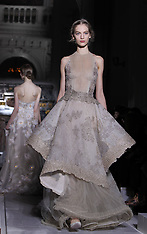 JAN 23 2013  Valentino during the Haute Couture Spring-Summer 2013