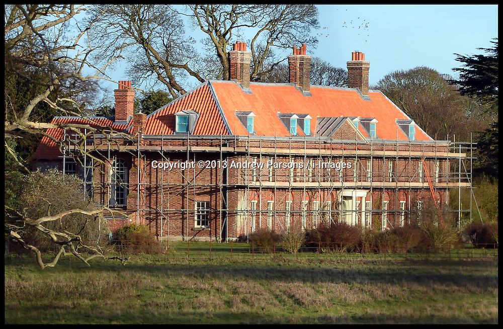 Prince William Kate 39 S Norfolk Home Building Work I Images