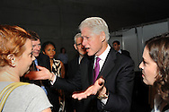 Austria, Vienna. XVIII International AIDS Conference (AIDS 2010).Plenary Session,.Photo shows: Former U.S. President  Bill Clinton, William J. Clinton Foundation, United States. Arrives at the conference..©IAS/Steve Forrest/Workers' Photos