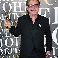 BRITs Icon Elton John