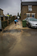 AUG 08 2014 Flooding in March Cambridgeshire