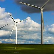 Enxco's new wind turbine project in Suisun City is creating green jobs in California.