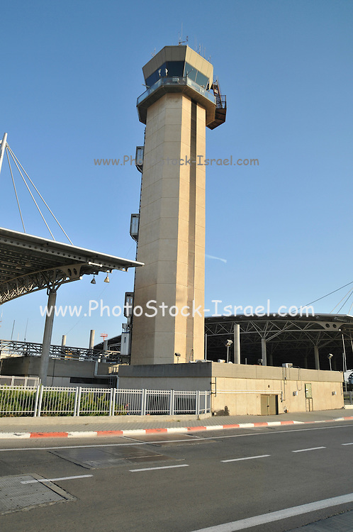 Israel, Ben-Gurion international Airport Air Control Tower