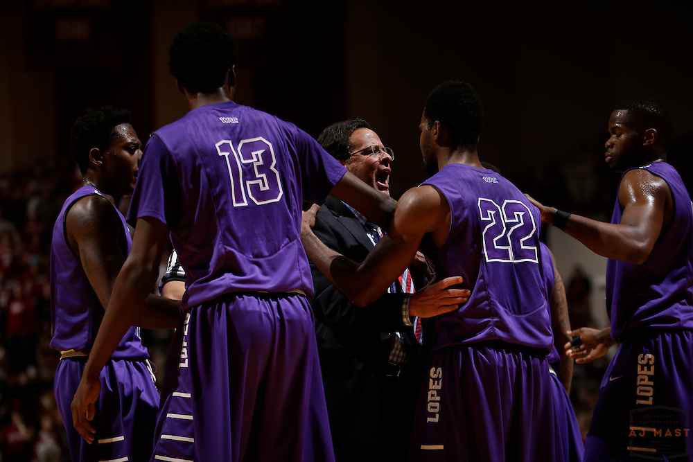 Indiana head coach Tom Crean as Grand Canyon played Indiana in an NCAA college basketball game in Bloomington, Ind., Saturday, Dec. 13, 2014. (AJ Mast/Photo)