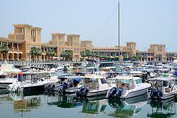 Souq Sharq shopping mall and marina in Kuwait City Kuwait