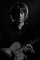 Scott Mathews playing live at the Plug in Sheffield