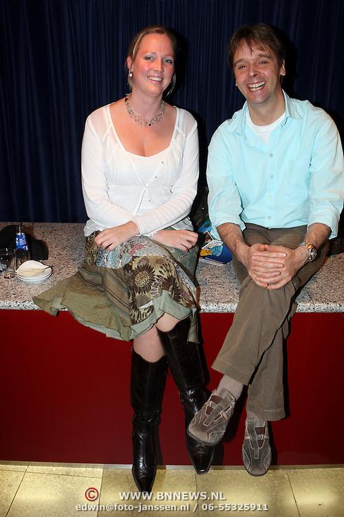 NLD/Den Bosch/20070930 - Premiere de Fabeltjeskrant, Peter Lusse en partner Kirsten Jeurissen