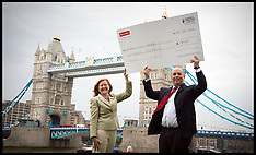 JULY 02 2013 Santander Foundation Cheque Presentation to Mayors fund