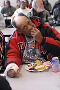 Nov. 26: The day before Thanksgiving, the Atlanta Union Mission serves 1,500 meals to the homeless.
