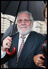 SEP 06 2013 Dave Lee Travis arriving at the Old Bailey