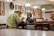 The Skipper and MaryAnn out to dinner?  Saipan restaurant.