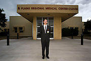 Hoyt Skabelund starts his first day as the Administrator for Plains Region Megical Center.