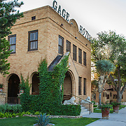 The Gage Hotel, in Marathon, Texas. west Texas.