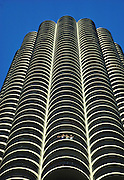 CHICAGO, LOOP ARCHITECTURE Marina Towers Apartments, North 'Loop' area