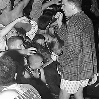 Dicky Barrett and the Mighty Mighty Bosstones perform at The Masquerade club in Atlanta, Georgia in the 1990s.