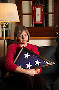 Lee Ann Doerflinger of Silver Sping lost her son, Thomas, on Nov. 11, 2004, when he was killed in action in Mosul, Iraq.