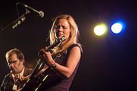 country singer allison moorer performing live