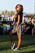 Plaid Shirt and Rocker Tee, Coachella 2015 Day 2