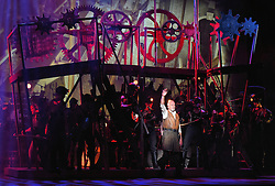 Jeff Wayne's War Of The Worlds Photo Call at The Dominion Theatre, Tottenham Court Road, London on Friday 12 February 2016