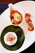 Lunch onboard Alila Purnama