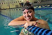 Guilford High School swimmer Emily Garganera.SCOTT MORGAN | ROCKFORD REGISTER STAR