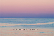 """Sky Meets Sea in Colors of PreDawn Light. Series: """"Horizons"""""""