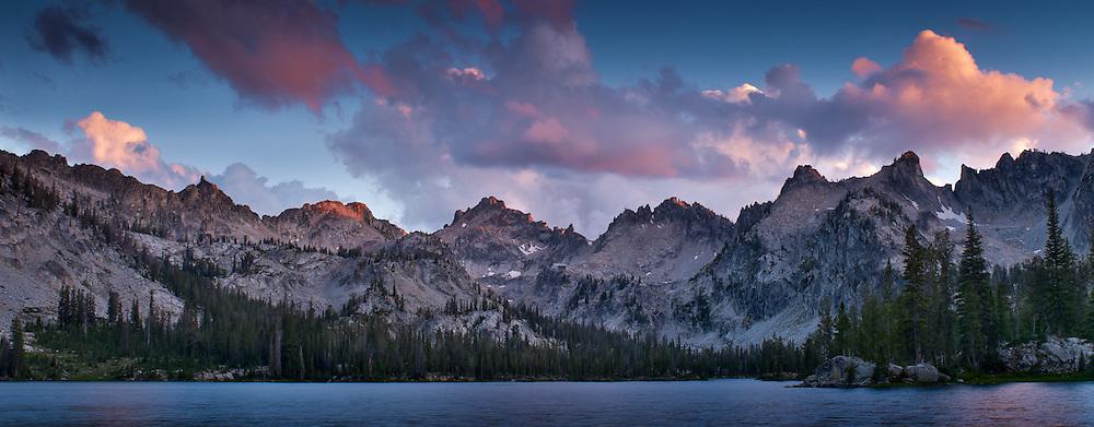 Alice Lake, Sawtooth Mountains near Sun Valley Idaho