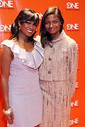 2 February 2011-New York, NY- Tatyana Ali and Anastasia Ali at TV One 2011 Programming Presentation Luncheon held at Cipriani 42nd Street on February 2, 2011 in New York City. Photo Credit: Terrence Jennings/Retna, Ltd