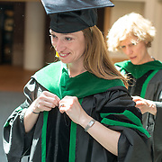 Anya Koutras, M.D. Class of 2012 commencement.