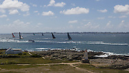 FRANCE, Lorient. 1st July 2012. Volvo Ocean Race, Start Leg 9 Lorient-Galway.
