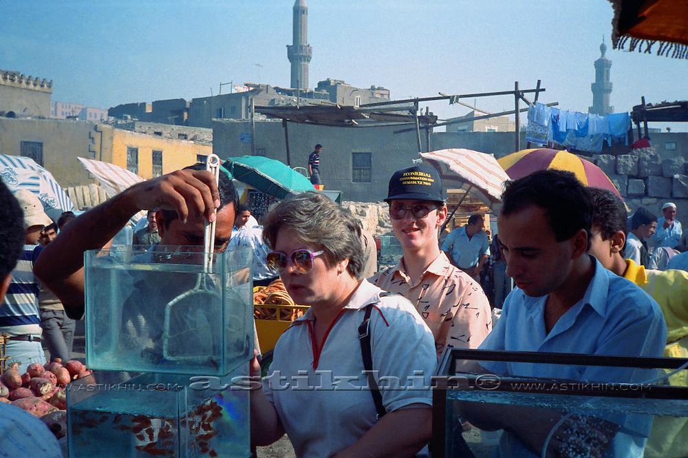 Market in Cairo, Egypt.