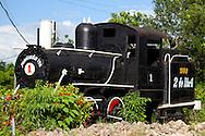 Train in Tacajo, Holguin, Cuba.
