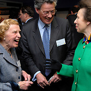 UK. London. Country Land and Business Association (CLA) Centenary Conference at the QEII centre, Westminster. Photos shows Her Royal Highness Princess Anne meeting members of the GLA..
