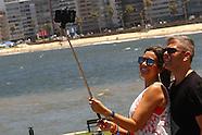 Playa Montevideo y Turistas