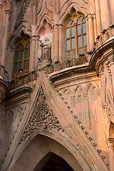 La Parroquia, Church of St. Michael the Archangel in San Miguel de Allende, Mexico.