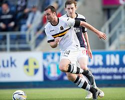 Dumbarton's Garry Fleming.<br /> Falkirk 1v 1 Dumbarton, Scottish Championship game played 20/9/2014 at The Falkirk Stadium .