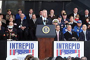 Bill White at The 2008 Veterans Day  Ceremonies at the Intrepid Sea, Air, & Space Musem on November 11, 2008 in NYC