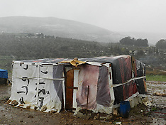 JAN 9 2013 Syrian refugees in northern Lebanon