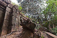 The temple ruins of Beng Mealea near Angkor Wat in Cambodia
