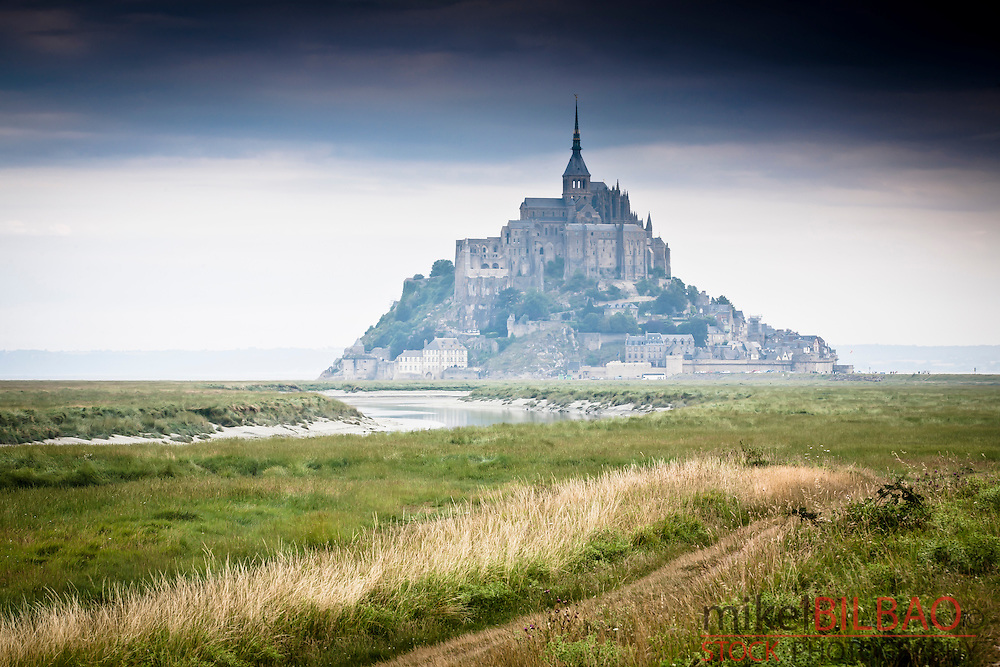 St Michael&acute;s Mount.<br /> Normandy, France, Europe