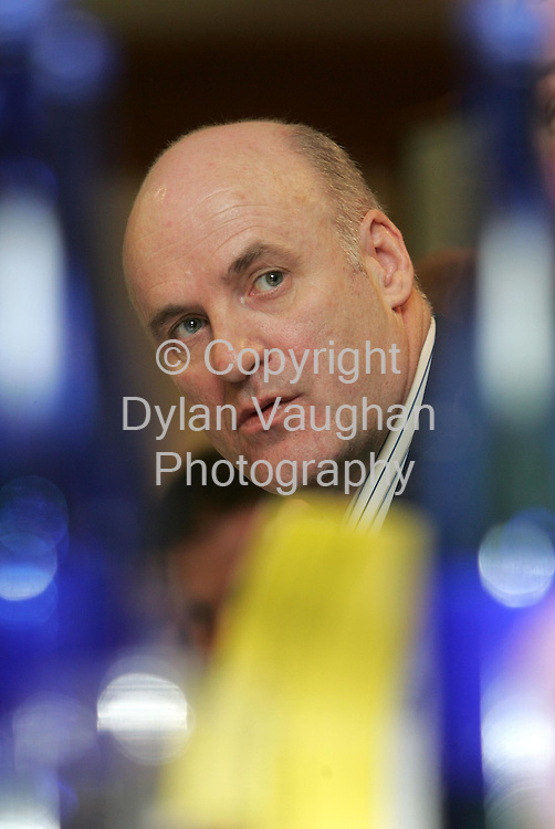 22/3/2005.Pictured yesterday at the Association of Garda Sergeants and Inspectors conference at the Kilkenny Ormonde Hotel was Joe Dirwan Association President..Picture Dylan Vaughan