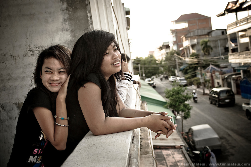 Srey Neth and Lia move into the STAR House, a secondary transition home designed to help victims of sex trafficking to learn the skills to reintegrate into society without falling back to sex work. The teenagers are residents of Transitions Global and have experienced horrific physical and mental abuse largely at the hands of their fellow Cambodians.