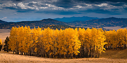 Autumn in the high Country of northern New Mexico. Valle Vidal, Carson National Forest.