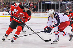 February 27, 2014: Columbus Blue Jackets at New Jersey Devils
