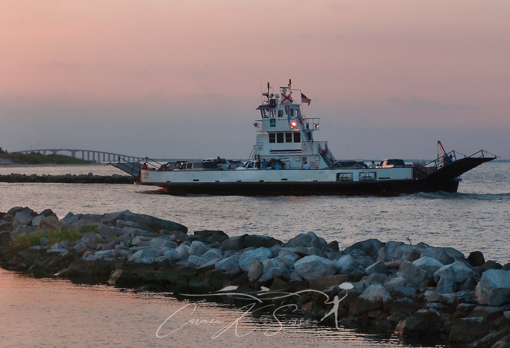 Dauphin Island To Fort Morgan Ferry