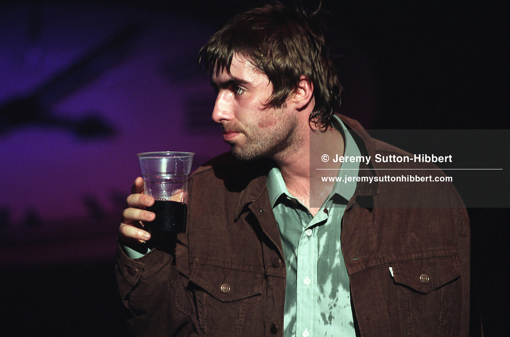 Oasis in concert in Glasgow, Scotland, in 1997..Rex 282271 JSU.