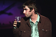 Oasis in concert in Glasgow, Scotland, in 1997..Rex 282271 JSU.