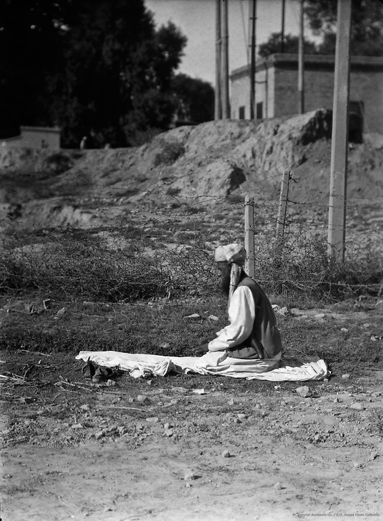 Man Praying, Peshawar, India, 1929