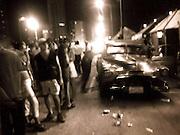 2000 August- Havana, Cuba- ' On the Malecon, late night ' Atmosphere in Havana, Cuba