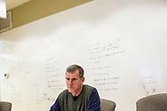 Retired U.S. Army general Stanley McChrystal sits for an interview at his office on Saturday, January 5, 2013 in Alexandria, VA.